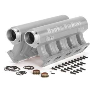 Shop By Part - Engine Components - Banks Power - Banks Power Big Hoss Racing Intake Manifold System Natural for use with 01-15 Chevy/GMC 6.6L Banks Power 42737