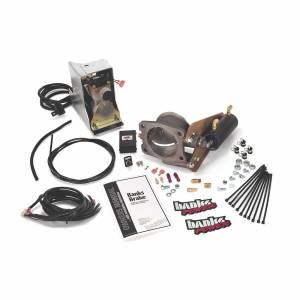 Exhaust - Exhaust Brakes - Banks Power - Banks Power Brake Exhaust Braking System 03-04 Dodge 5.9 Banks Exhaust W/Catalytic Converter Banks Power 55222