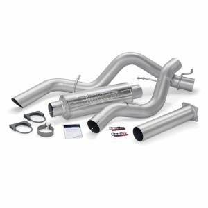 Exhaust - Exhaust Systems - Banks Power - Banks Power Monster Sport Exhaust System 01-05 Chevy 6.6L SCLB Banks Power 48769