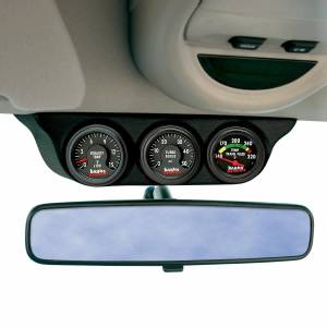 Banks Power Overhead Console Pod 3 Gauges 1999-2006 Chevy Truck Black Banks Power 63361