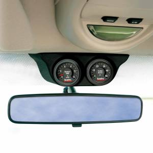Banks Power Overhead Console Pod 2 Gauges 1999-2006 Chevy Truck Black Banks Power 63360