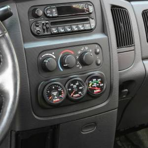 Banks Power - Banks Power Dash Mount Gauge Pod 3 Gauge 2003-2005 Dodge Ram Black Banks Power 63319