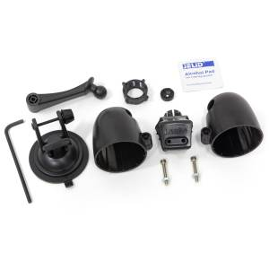 Gauges & Pods - Pods & Mounts - Banks Power - Banks Power Dual Gauge Pod Kit 52mm Sticky Base Suction Mount iDash 1.8 and 52mm (2-1/16 inch) gauges Banks Power 63344