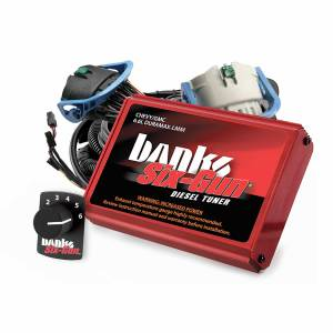 2006-2007 GM 6.6L LLY/LBZ Duramax - Programmers/Tuners/Chips - Banks Power - Banks Power Six-Gun Diesel Tuner W/Switch 07-10 Chevy 6.6L LMM Banks Power 63887