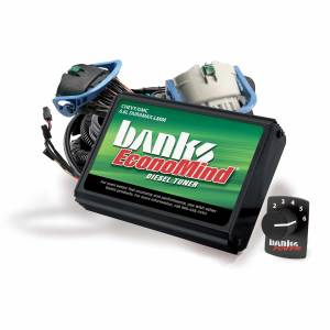 Shop By Part - Programmers/Tuners/Chips - Banks Power - Banks Power Economind Diesel Tuner (PowerPack Calibration) W/Switch 07-10 Chevy 6.6L LMM Banks Power 63885