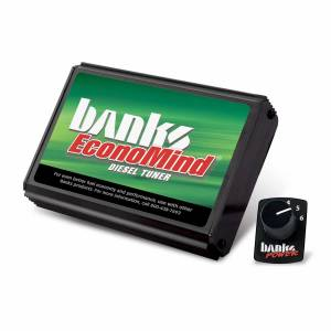 Shop By Part - Programmers/Tuners/Chips - Banks Power - Banks Power EconoMind Diesel Tuner (PowerPack Calibration) W/Switch 06-07 Chevy 6.6L LLY-LBZ Banks Power 63865
