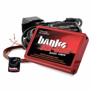 2001-2004 GM 6.6L LB7 Duramax - Programmers/Tuners/Chips - Banks Power - Banks Power Six-Gun Diesel Tuner W/Switch 01-04 Chevy 6.6L LB7 Banks Power 63767