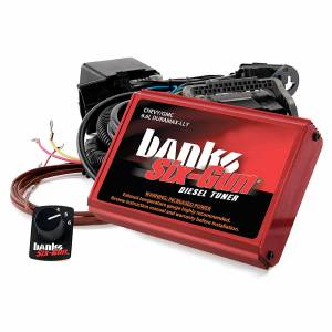 2004.5-2005 GM 6.6L LLY Duramax - Programmers/Tuners/Chips - Banks Power - Banks Power Six-Gun Diesel Tuner W/Switch 04-05 Chevy 6.6L LLY Banks Power 63717