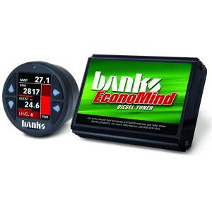 Shop By Part - Programmers/Tuners/Chips - Banks Power - Banks Power Economind Diesel Tuner (PowerPack calibration) with Banks iDash 1.8 Super Gauge for use with 2006-2007 Chevy 6.6L, LLY-LBZ Banks Power 61413