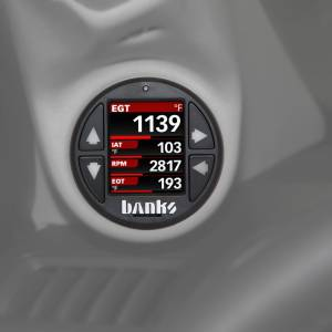 Banks Power - Banks Power Economind Diesel Tuner (PowerPack calibration) with Banks iDash 1.8 Super Gauge for use with 2004-2005 Chevy 6.6L, LLY Banks Power 61411 - Image 2