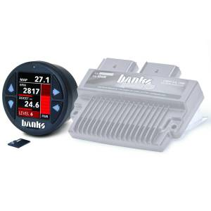 2008-2010 Ford 6.4L Powerstroke - Programmers/Tuners/Chips - Banks Power - Banks Power Six-Gun Diesel Tuner W/iDash 1.8 DataMonster 08-10 Ford 6.4L Banks Power 61452