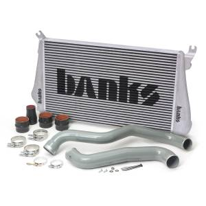 Intercoolers and Pipes - Intercoolers - Banks Power - Banks Power Intercooler System W/Boost Tubes 13-16 Chevy 6.6L Duramax Banks Power 25988