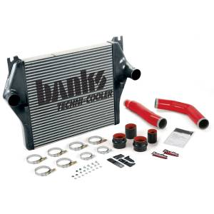 Intercoolers and Pipes - Intercoolers - Banks Power - Banks Power Intercooler System W/Boost Tubes 07-08 Dodge 6.7L Banks Power 25983