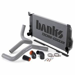 Intercoolers and Pipes - Intercoolers - Banks Power - Banks Power Intercooler System 04-05 Chevy/GMC 6.6 LLY W/Boost Tubes Banks Power 25978