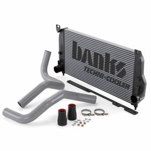 Intercoolers and Pipes - Intercoolers - Banks Power - Banks Power Intercooler System 02-04 Chevy/GMC 6.6 LB7 W/Boost Tubes Banks Power 25977