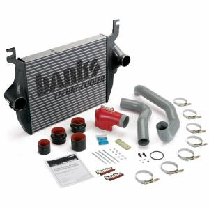 Intercoolers and Pipes - Intercoolers - Banks Power - Banks Power Intercooler System 05-07 Ford 6.0L F250/F350/F450 W/High-Ram and Boost Tubes Banks Power 25975