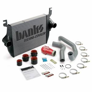 Intercoolers and Pipes - Intercoolers - Banks Power - Banks Power Intercooler System 03-04 Ford 6.0L F250/F350/F450 W/High-Ram and Boost Tubes Banks Power 25974