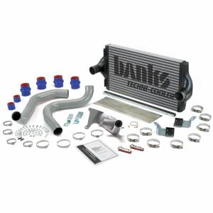 Intercoolers and Pipes - Intercoolers - Banks Power - Banks Power Intercooler System W/Boost Tubes 99.5 Ford 7.3L Banks Power 25971
