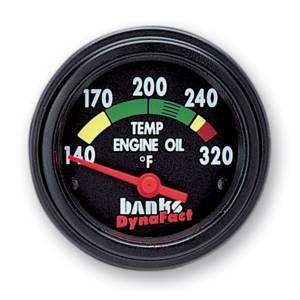 Gauges & Pods - Gauges - Banks Power - Banks Power Temp Gauge Kit Engine Oil 99-03 Ford 7.3L Banks Power 64111