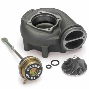 Turbo Chargers & Components - Turbo Charger Accessories - Banks Power - Banks Power Turbo Upgrade Kit 99.5-03 Ford 7.3L Big-Head Wastegate Compressor Wheel Quick Turbo Banks Power 24458