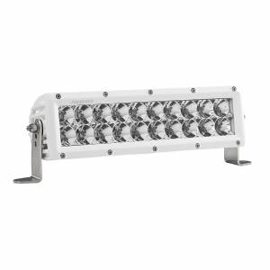 Lighting - Offroad Lights - Rigid Industries - Rigid Industries 10 Inch Flood Light White Housing E-Series Pro RIGID Industries 810113