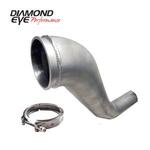 Exhaust - Down Pipes - Diamond Eye Performance - Diamond Eye Performance 1994-2002 DODGE 5.9L CUMMINS 2500/3500 (ALL CAB AND BED LENGTHS)-PERFORMANCE DIE 221043