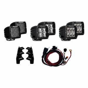 Lighting - Lighting Accessories - Rigid Industries - Rigid Industries 17-18 Ford Raptor Fog Light Kit Includes Mounts and 6 D-Series RIGID Industries 41610
