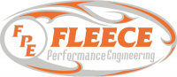 Fleece Performance - Fleece Performance 34.5 Inch Common Rail/VP44 Cummins Coolant Bypass Hose Stainless Steel Braided Fleece Performance FPE-CLNTBYPS-HS-CRVP-SS