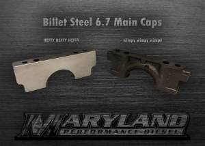Featured Products - Engine Parts - Maryland Performance Diesel - MPD 11-19 Billet Main Caps