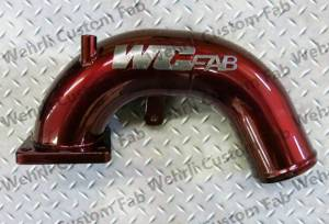 "Wehrli Custom Fabrication - Wehrli Custom Fabrication 5.9 Cummins 3"" Intake Horn"