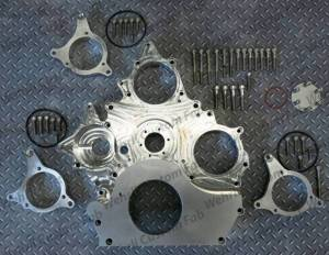 Wehrli Custom Fabrication - Wehrli Custom Fabrication Duramax Billet Front Engine Cover