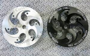Wehrli Custom Fabrication - Wehrli Custom Fabrication Duramax Billet CP3 Pulley (Deep Offset)