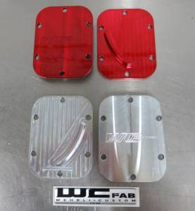 Wehrli Custom Fabrication - Wehrli Custom Fabrication Allison Billet PTO Cover Set C3 Oiler