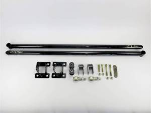 "Wehrli Custom Fabrication - Wehrli Custom Fabrication 2011-2018 Duramax 68"" Traction Bar Kit (ECLB, CCLB)"