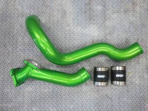 Intercoolers and Pipes - Piping - Wehrli Custom Fabrication - Wehrli Custom Fabrication LB7 Stage 3 Y-Bridge Kit