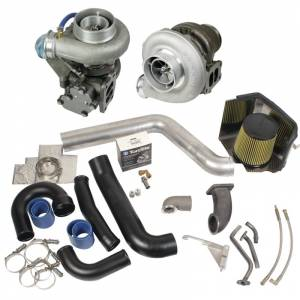 Turbo Chargers & Components - Turbo Charger Kits - BD Diesel - BD Diesel Super B Twin Turbo Kit w/FMW Billet Wheel on Secondary - Dodge 98.5-02 24-valve 1045320