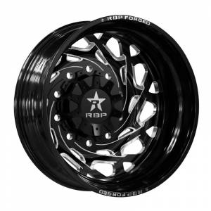 Wheel & Tire - Wheels - RBP Performance - RBP Dually Wheels - 22x8.25 Gloss Black Empire Wheels