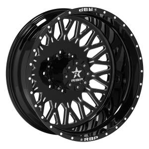 Wheel & Tire - Wheels - RBP Performance - RBP Dually Wheels - 22x8.25 Gloss Black Tycoon Wheels