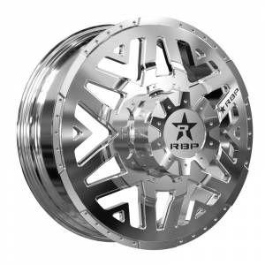 Wheel & Tire - Wheels - RBP Performance - RBP Dually Wheels - 22x8.25 High Polished Apex Wheels