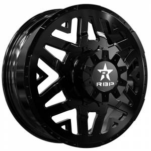 Wheel & Tire - Wheels - RBP Performance - RBP Dually Wheels - 22x8.25 Gloss Black Apex Wheels