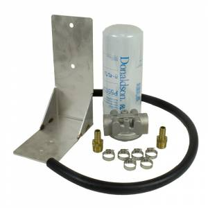 Fuel System - Fuel System Parts - BD Diesel - BD Diesel Remote Fuel Filter Kit - 2001-2012 Chevy Duramax 1050060