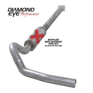 Exhaust - Exhaust Systems - Diamond Eye Performance - Diamond Eye Performance 2001-2005 CHEVY/GMC 6.6L DURAMAX 2500/3500 (ALL CAB AND BED LENGHTS)-4in. 409 ST K4110S-RP