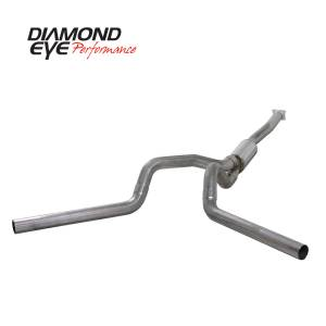 Exhaust - Exhaust Systems - Diamond Eye Performance - Diamond Eye Performance 2001-2005 CHEVY/GMC 6.6L DURAMAX 2500/3500 (ALL CAB AND BED LENGTHS)-4in. 409 ST K4112S