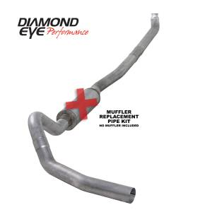 Exhaust - Exhaust Systems - Diamond Eye Performance - Diamond Eye Performance 2001-2007.5 CHEVY/GMC 6.6L DURAMAX 2500/3500 (ALL CAB AND BED LENGTHS)-4in. ALUM K4114A-RP