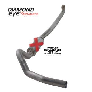 Exhaust - Exhaust Systems - Diamond Eye Performance - Diamond Eye Performance 2001-2007.5 CHEVY/GMC 6.6L DURAMAX 2500/3500 (ALL CAB AND BED LENGTHS)-4in. 409 K4114S-RP