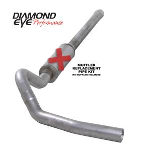 Exhaust - Exhaust Systems - Diamond Eye Performance - Diamond Eye Performance 2006-2007.5 CHEVY/GMC 6.6L DURAMAX 2500/3500 (ALL CAB AND BED LENGTHS) 4in. ALUM K4122A-RP