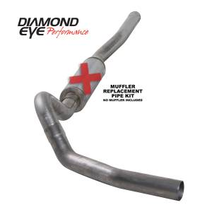Exhaust - Exhaust Systems - Diamond Eye Performance - Diamond Eye Performance 2006-2007.5 CHEVY/GMC 6.6L DURAMAX 2500/3500 (ALL CAB AND BED LENGTHS) 4in. 409 K4122S-RP