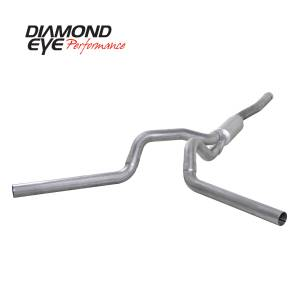 Exhaust - Exhaust Systems - Diamond Eye Performance - Diamond Eye Performance 2006-2007.5 CHEVY/GMC 6.6L DURAMAX 2500/3500 (ALL CAB AND BED LENGTHS) 4in. ALUM K4124A