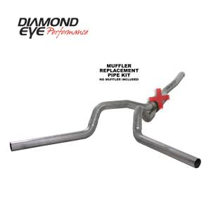 Exhaust - Exhaust Systems - Diamond Eye Performance - Diamond Eye Performance 2006-2007.5 CHEVY/GMC 6.6L DURAMAX 2500/3500 (ALL CAB AND BED LENGTHS) 4in. 409 K4124S-RP