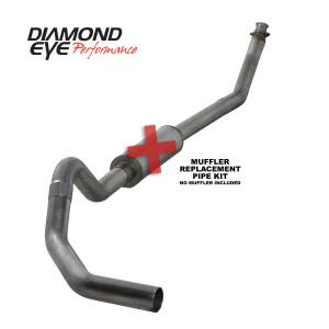 Exhaust - Exhaust Systems - Diamond Eye Performance - Diamond Eye Performance 1994-2002 DODGE 5.9L CUMMINS 2500/3500 (ALL CAB AND BED LENGTHS)-4in. 409 STAINL K4212S-RP